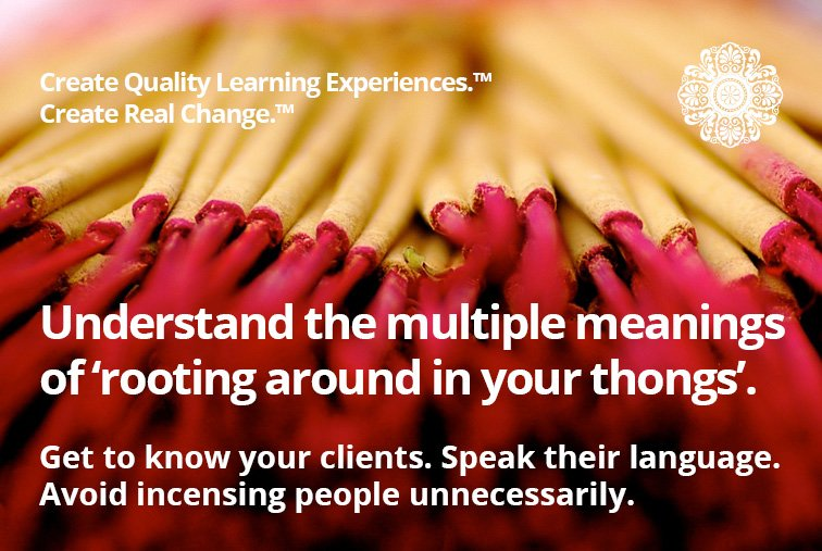 speaking your clients language