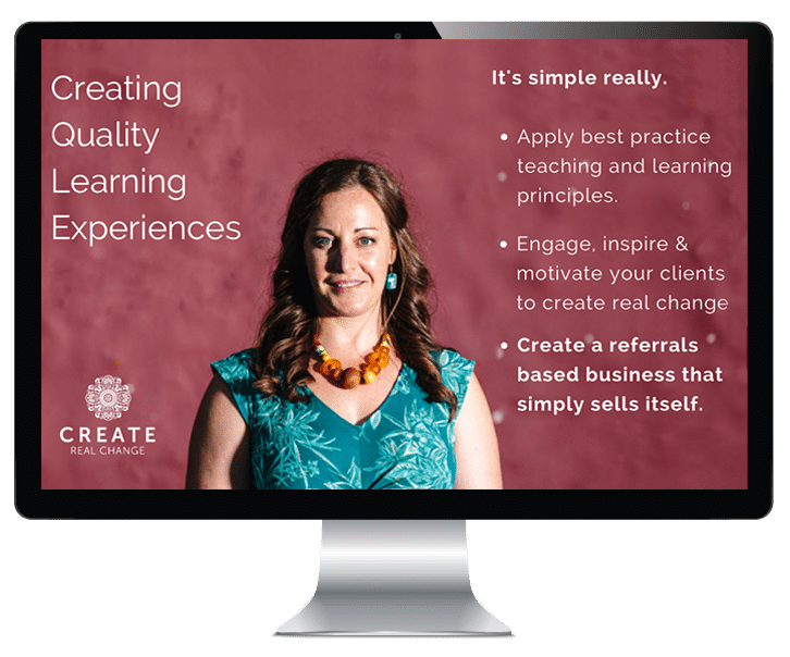 creating quality online training