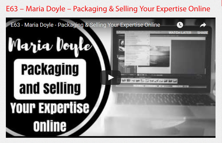 E63_Packaging_and_Selling_Your_Expertise_Online