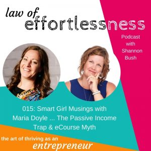 Podcast 015 Smart Girl Musings The Passive Income Myth