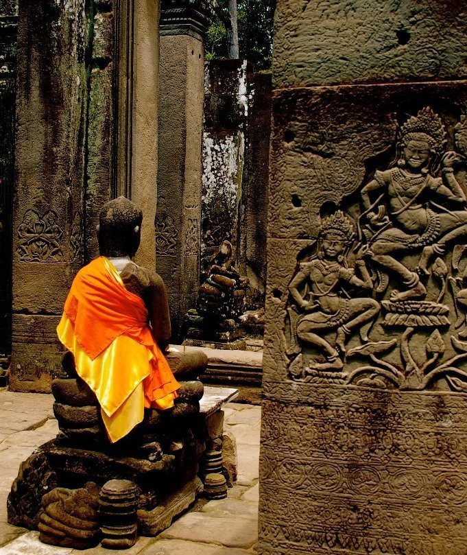 Buddha statue in Siem Reap, Cambodia, Picture: Maria Doyle