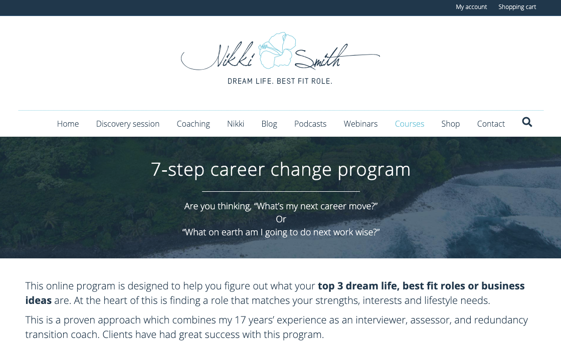 online courses 7-step-career-change