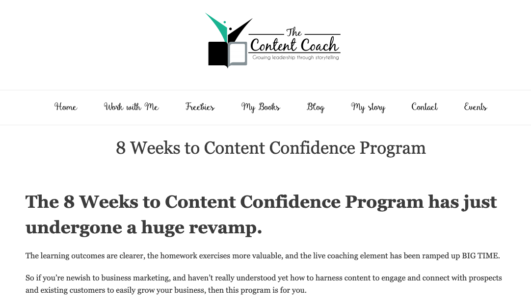 online courses the content coach