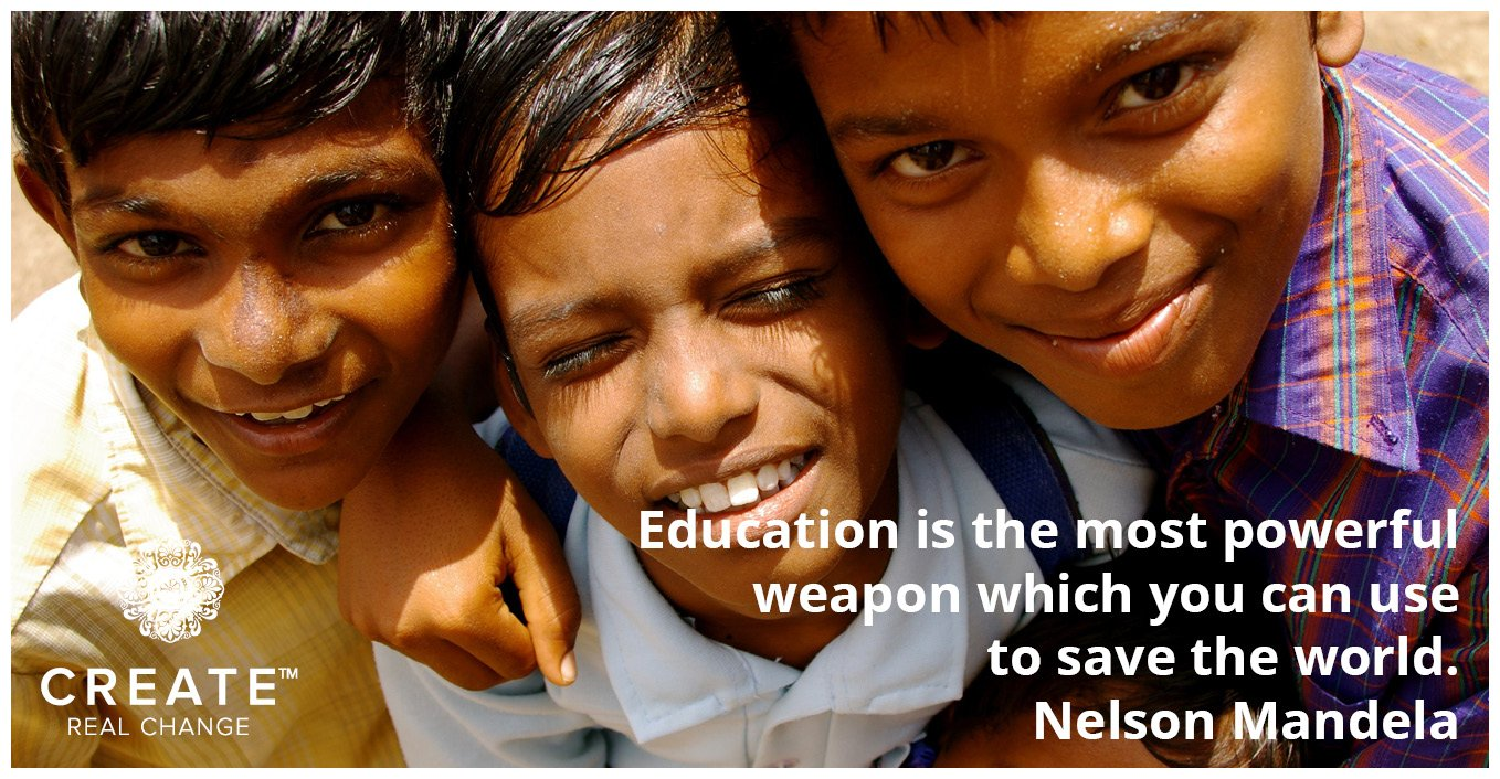 The power of education - Mandela