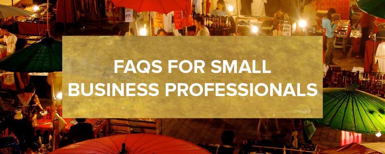 FAQs Small Business