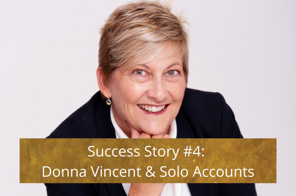Success Story - Donna Vincent