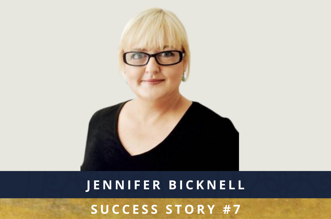 Jennifer Bicknell - Success Story