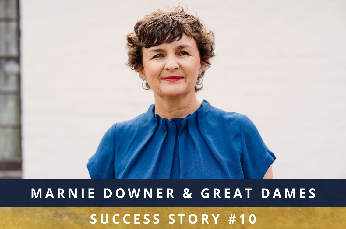 Success Story Button - Marnie Downer